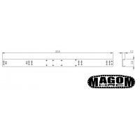 Chasis para Bruder 4x4 - SD - 1:16