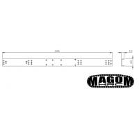 Chassis für 2-Achs-LKW - SD - 1:16