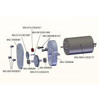 Piñón motor para bombas hidráulicas - 9z (3.14mm)