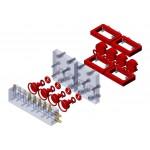Kit actualización V1 a V2 válvula repartidora 4 vías M3