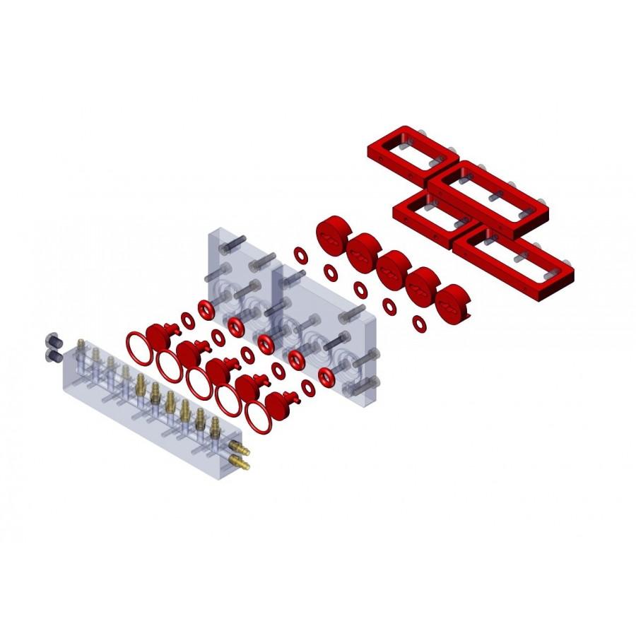 Kit actualización V1 a V2 válvula repartidora 5 vías M3