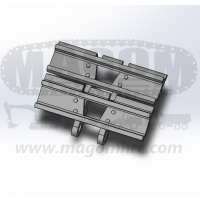 Eslabón cadena 40 mm V3 - 2 garras