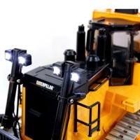 Foco mecanizado + circuito impreso