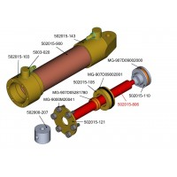 Welle - 15mm Hydraulikzylinder