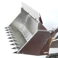973D 1/14 Cargadora de cadenas de metal KIT + Hidráulica + Electrónica - VERSIÓN 2