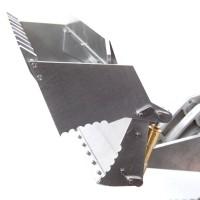 973D 1/14 alle Metall Laderaupe KIT + Hydraulikteile + Elektronik - VERSION 2