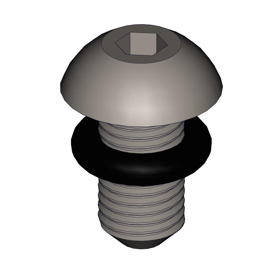 Füllschraube + O-Ring für Pumpentank HR7