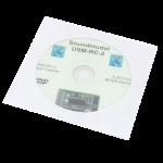 Software (DVD) para el módulo de sonido USM-RC2