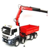 MAN TGS 8x8 camión pluma (SD)