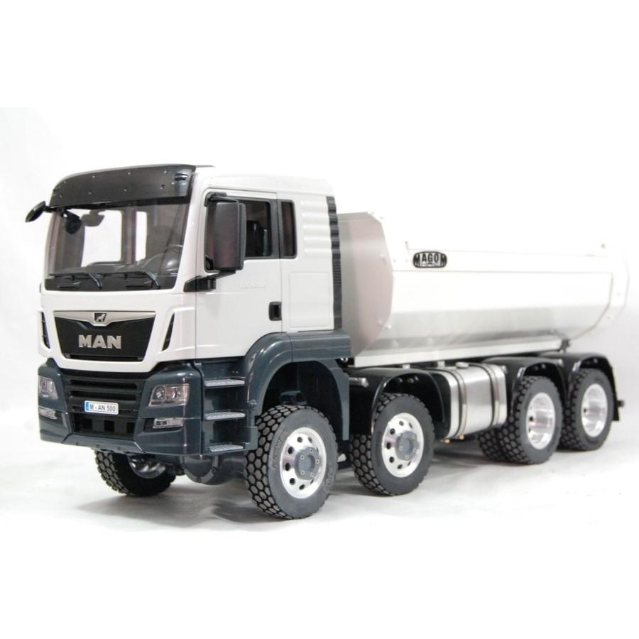 MAN TGS 8x8 Truck (SD) - Ribaltabile bianco