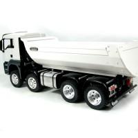 MAN TGS 8x8 (SD) - Volquete blanco