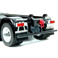 Halfpipe 2-axle trailer (with hydraulic system)