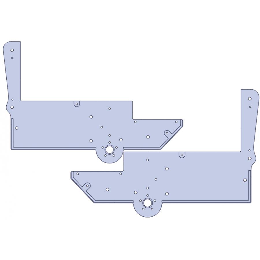 Paar Seitenteile - Untergestell 973D V2