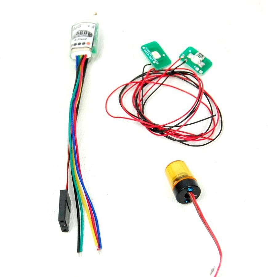 Kit de luces para L574 con opciones de metal