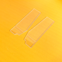 Pareja de ventanas para puertas cabina L574 - Metal
