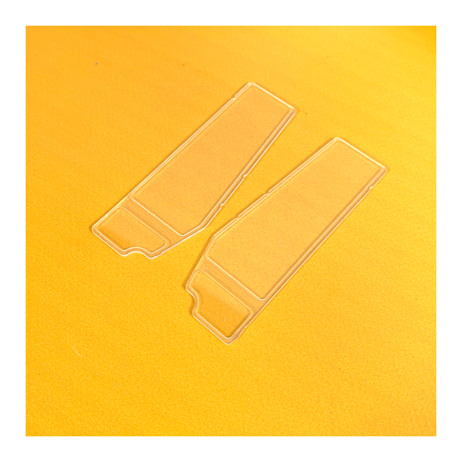 Paar Fenster für Kabinentüren L574 - Metall