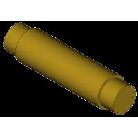 Realistic machinery pin - short head 20.5 mm