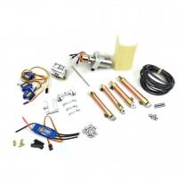 Hydraulik+elektronisch Set - HUINA 580 (ursprünglicher Arm)