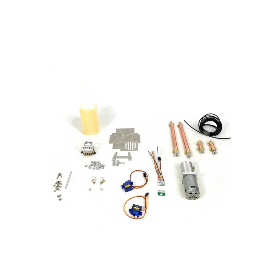 Kit hidráulico + electrónica VOLVO A60H con bomba brushed