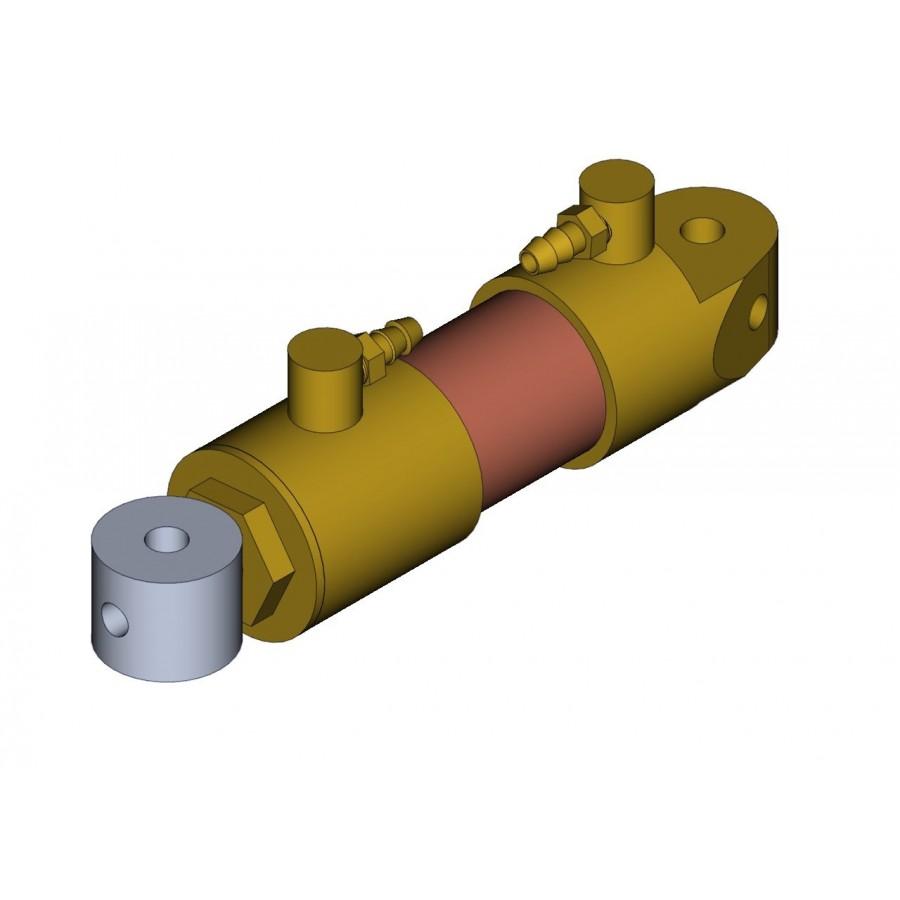 Hydraulikzylinder durchmesser 12 mm M3 + Hexagon