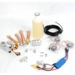 Kit hidráulico+electrónico - HUINA 580 (brazo MAGOM)
