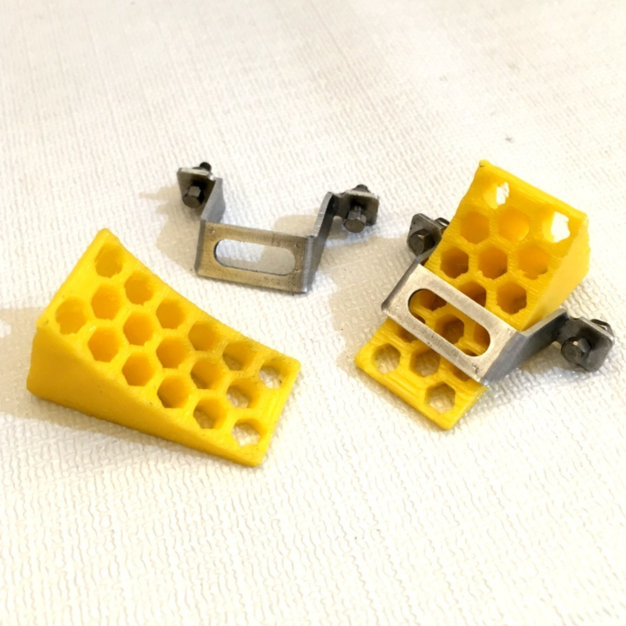 Calzos de rueda + soporte (2)
