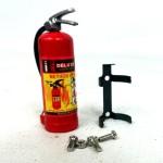 Extintor con pegatina