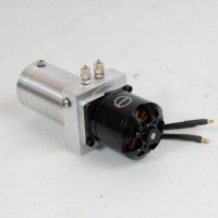 Geared box with motor 70 rpm