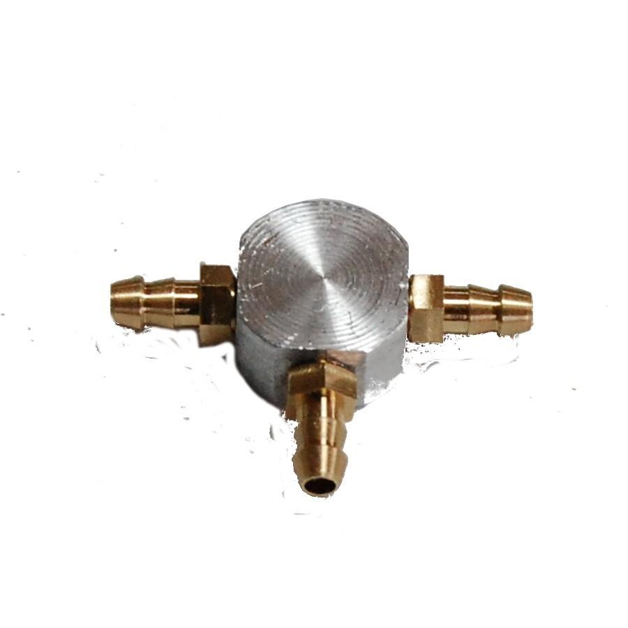 Unión en T - tubería 2mm