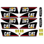 Kit Logo para brazo CAT 1/16