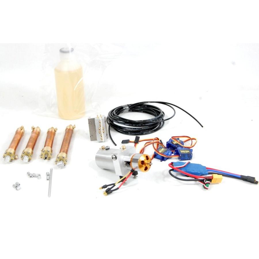 Kit hidráulico+electrónica CAT 320 (Brazo Metal)