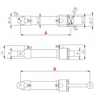 Hydraulikzylinder durchmesser 12 mm M3