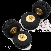 MAGOM Felgen + Reifen für HUINA 583 (4 Stück)