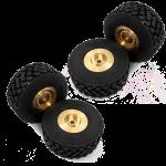 Llantas + neumáticos MAGOM para HUINA 583 (4 unidades)