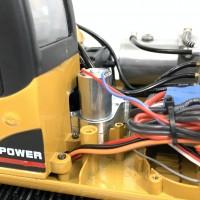 HUINA 580 - Getriebe zum Drehen