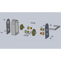 Kit de Caja Reductora para Tamiya