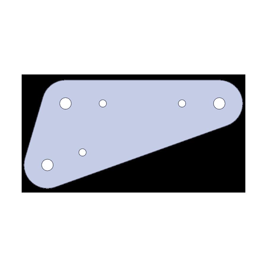 Camión pluma - soporte tramo extensible 3mm