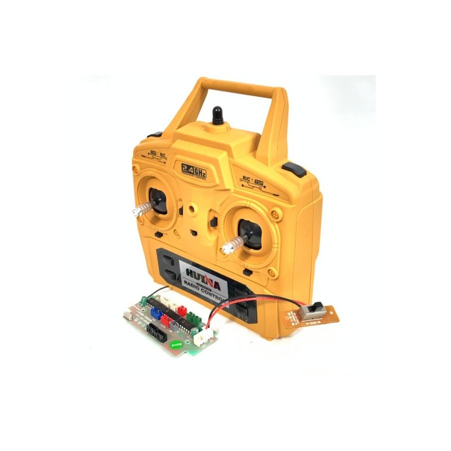 Mando + Placa Base + Interruptor - HUINA 583