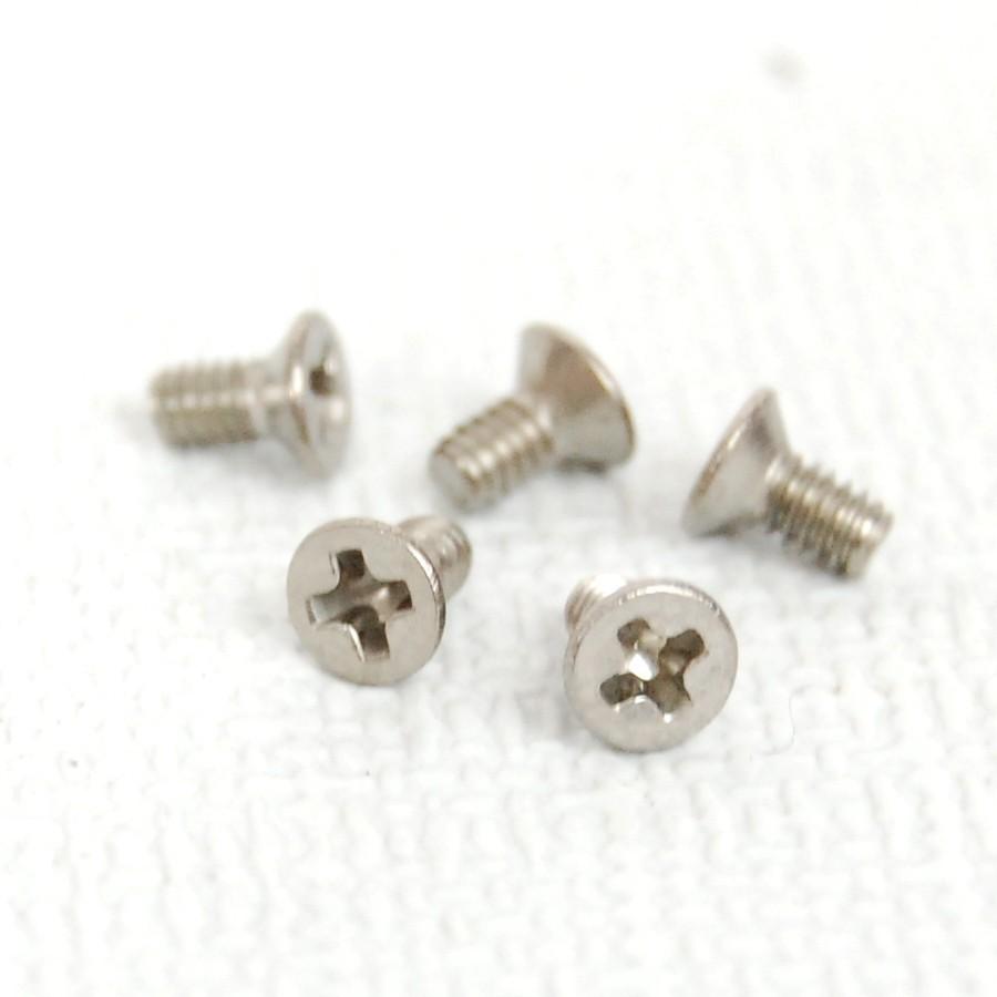 Pack (5) tornillos M2 x 4 cabeza avellanada