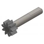 Pignon de moteur de pompe BRUSHLESS avec réservoir