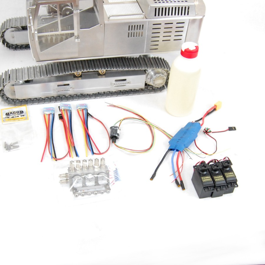 Liebherr 574 hydraulic Loader + Transmitter