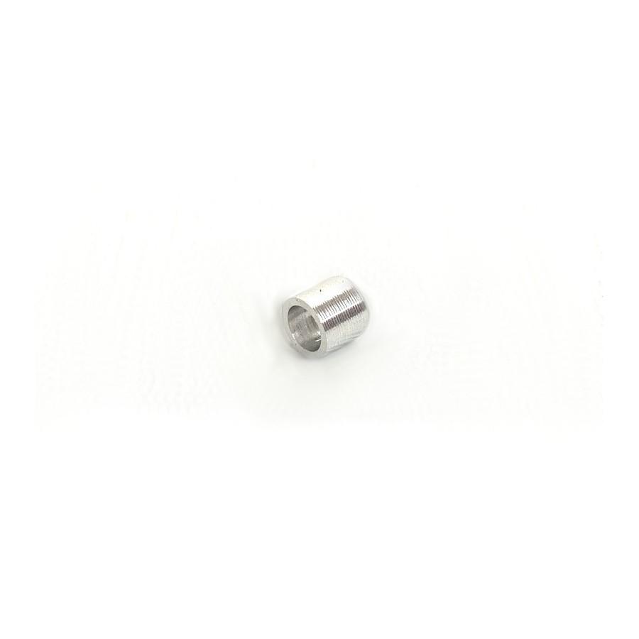 Casquillo unión doble tubería 3mm