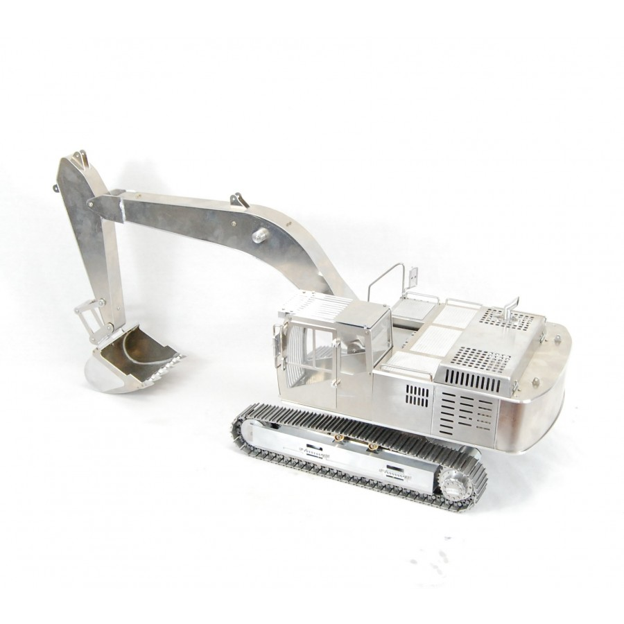 Complete rear support for chassis - 8x8 - 1:16