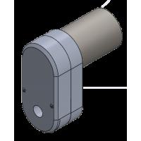 Getriebekasten mit Motor 70 rpm - V2 - 5mm Welle