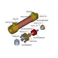 Innenteil der 12 mm hydraulikzylinder