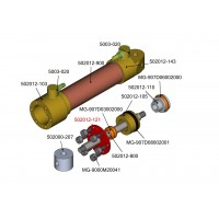 Teller für 12 mm hydraulikzylinder