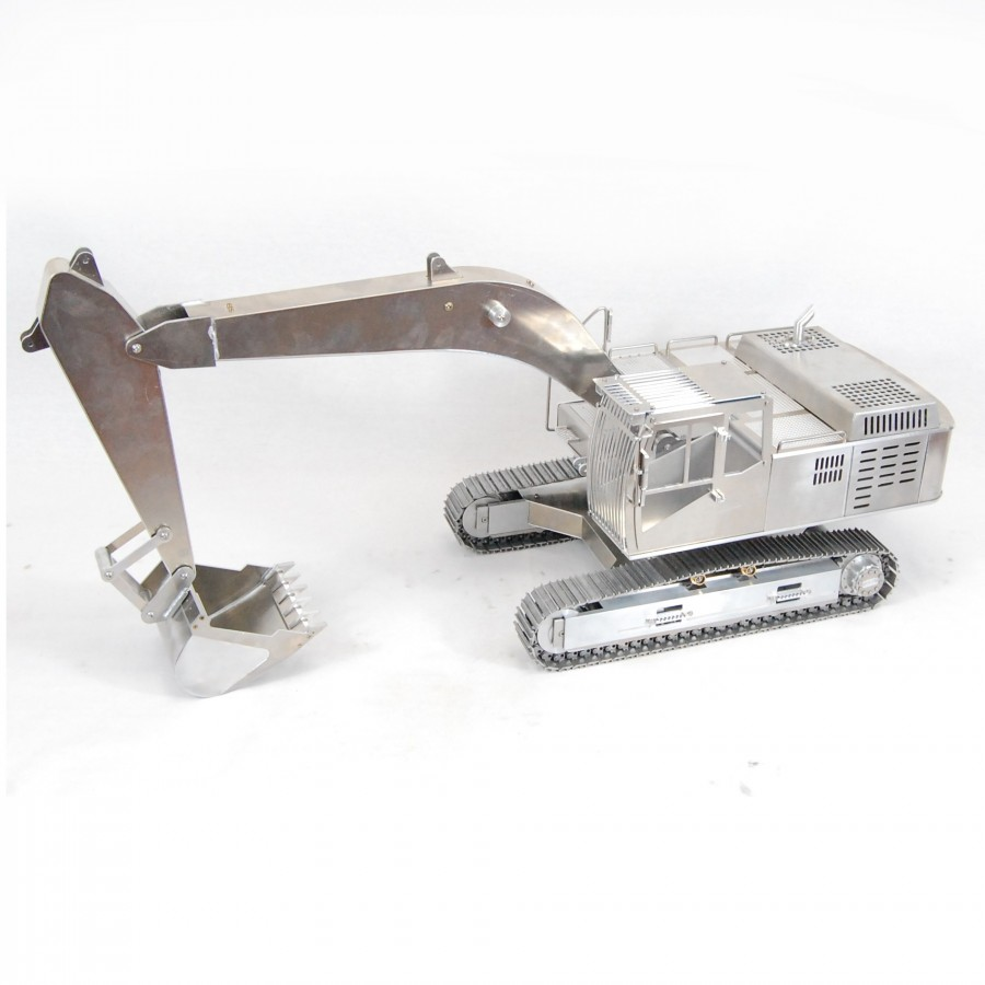 Rear axle double for 6x6 truck - servo - 1:16