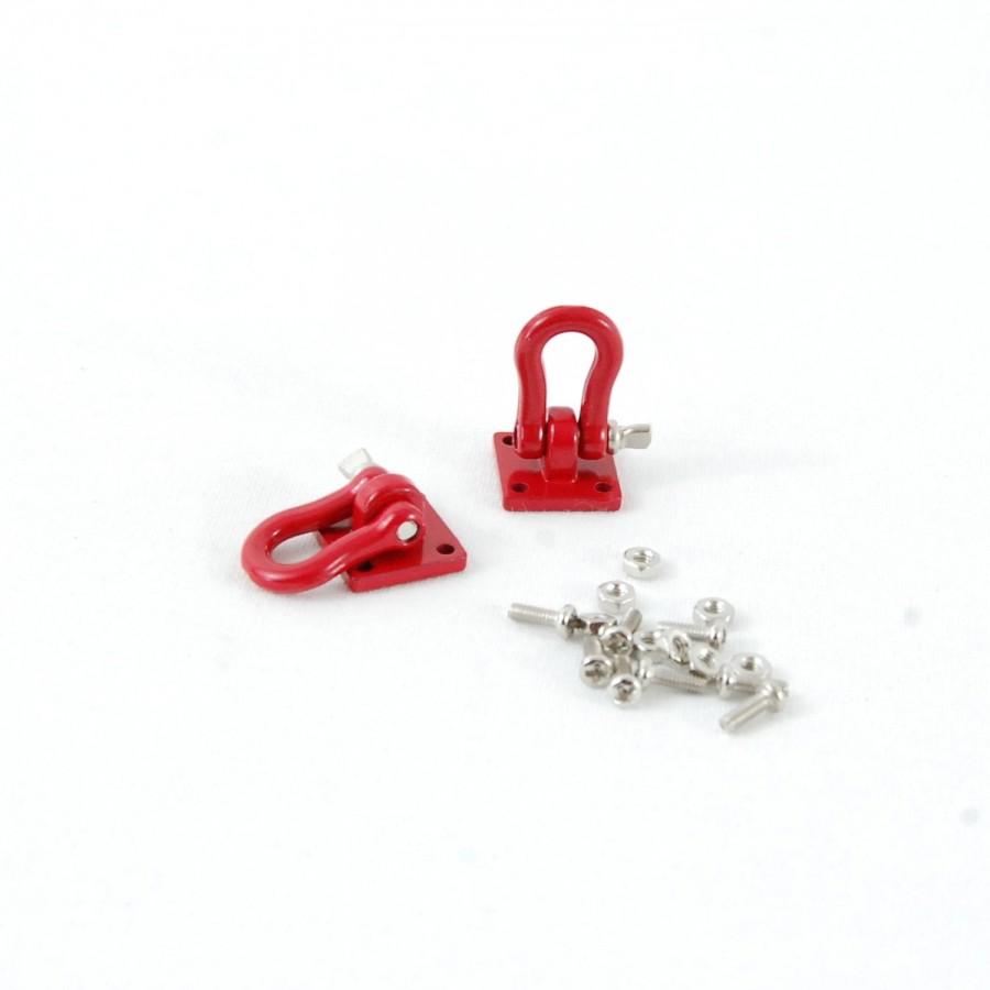 Grillete para trabajo pesado (Rojo)