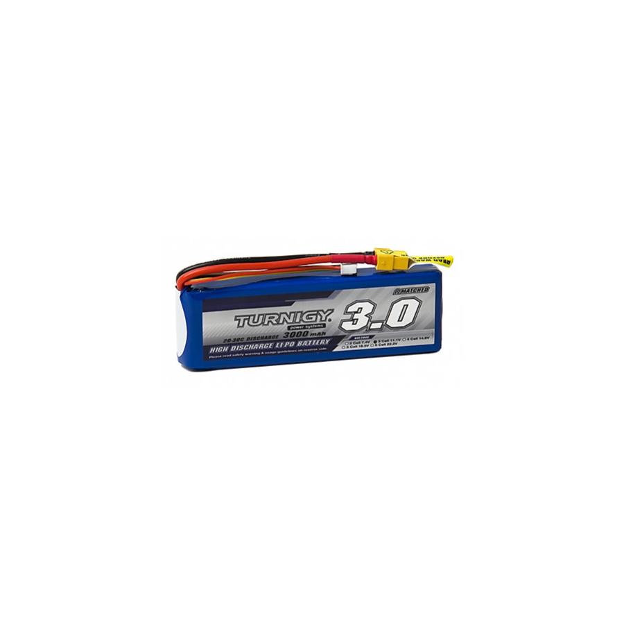 Akku Lipo 11.1V 3000mah - blau