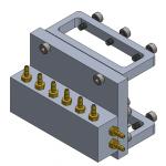 Válvula repartidora 3 vías V2 - TUBERÍA 2mm